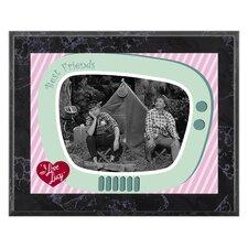 I Love Lucy 'Camping' Memorabilia Plaque