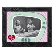 I Love Lucy 'Chocolate Factory' Memorabilia Plaque