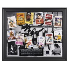 Elvis Presley in 'Hollywood' Framed Memorabilia