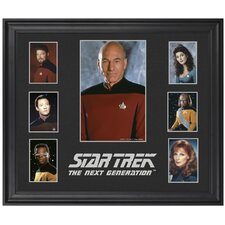 "Star Trek: The Next Generation Limited Edition Framed Presentation - 23"" x 27"""