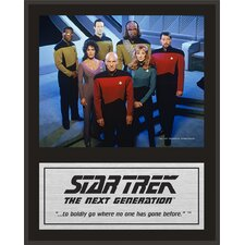 "Star Trek: The Next Generation Sublimated Plaque (Version 2) - 15"" x 12"""