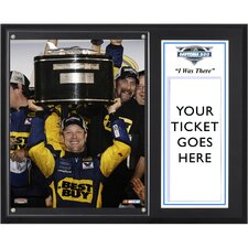 "<strong>Mounted Memories</strong> NASCAR 2012 Daytona 500 Champion Sublimated  ""I WAS THERE"" Plaque"