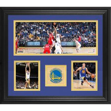 Golden State Warriors Framed 3-Photograph Collage