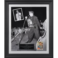 Elvis Presley '1956' Limited Edition Presentation Framed Graphic Art