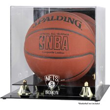 <strong>Mounted Memories</strong> NBA Golden Classic Logo Basketball Display Case