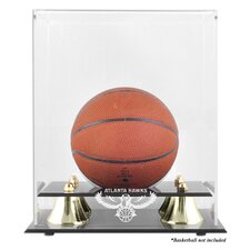 NBA Golden Classic Logo Mini Basketball Display Case