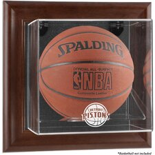 NBA Wall Mounted Basketball Display Case