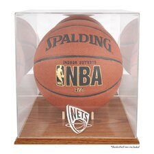 <strong>Mounted Memories</strong> NBA Logo Basketball Display Case