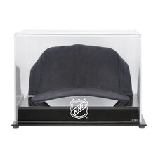 NHL Acrylic Cap Logo Display Case