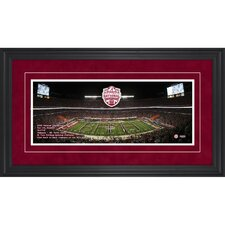 <strong>Mounted Memories</strong> Alabama Crimson Tide 2012 BCS National Champions Gameday Framed Panoramic