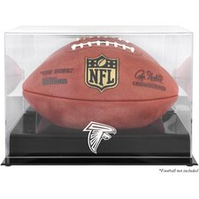 NFL Football Logo Display Case