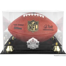 NFL Football Hall of Fame Logo Display Case