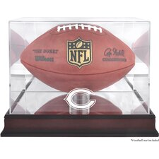 <strong>Mounted Memories</strong> NFL Football Logo Display Case