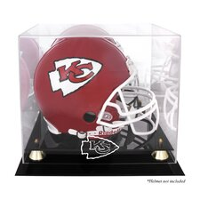 NFL Classic Helmet Logo Display Case