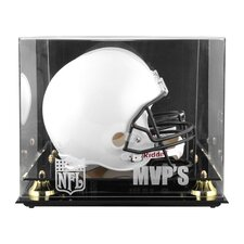 NFL MVP Logo Helmet Display Case