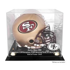 NFL Hall of Fame Classic Helmet Display Case