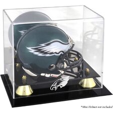 NFL Classic Logo Mini Helmet Display Case