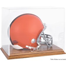 <strong>Mounted Memories</strong> NFL Logo Mini Helmet Display Case