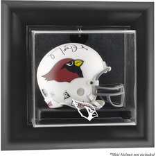 <strong>Mounted Memories</strong> NFL Wall Mounted Mini Helmet Logo Display Case