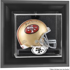 NFL Wall Mounted Mini Helmet Logo Display Case