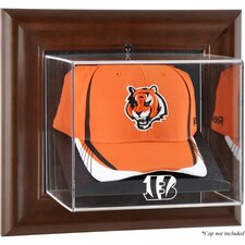 NFL Wall Mounted Logo Cap Case