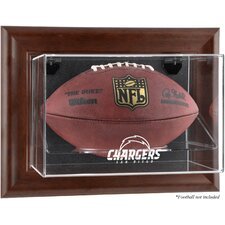 NFL Wall Mounted Logo Football Case