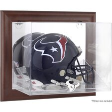 NFL Wall Mounted Logo Helmet Case