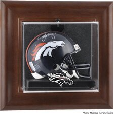 NFL Wall Mounted Logo Mini Helmet Case