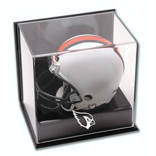 <strong>Mounted Memories</strong> NFL Wall Mounted Logo Mini Helmet Display Case
