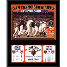 <strong>Mounted Memories</strong> MLB San Francisco Giants 2012 National League Champions Sublimated Plaque