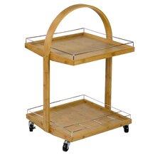 Tivoli Bamboo Serving Cart