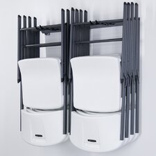 <strong>Monkey Bar Storage</strong> Small Folding Chair Rack