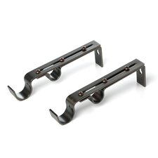 Lexington Double Curtain Bracket (Set of 2)