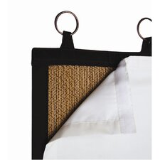 Insulated Blackout Liner Grommet Curtain Single Panel