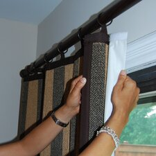 <strong>Versailles Home Fashions</strong> Insulated  Liner Grommet Curtain Single Panel