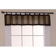 "Bamboo Ring Top 48"" Curtain Valance"