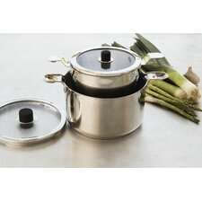 <strong>Natural Home</strong> Eazistore Stainless Steel 4-Piece Cookware Set