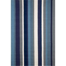 Newport Marine Vertical Stripe Indoor/Outdoor Rug