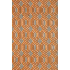Carlton Orange Braids Rug