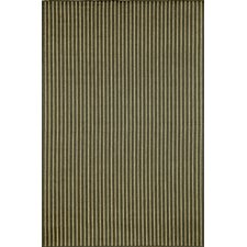 Monterey Charcoal Texture Stripe Indoor/Outdoor Rug