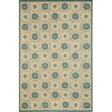 Madison Ocean Tiles Indoor/Outdoor Rug