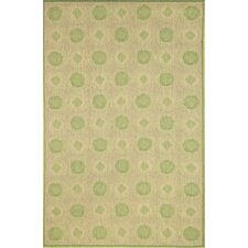 <strong>Liora Manne</strong> Madison Green Tiles Rug