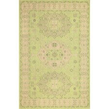 Monterey Green Kilim Indoor/Outdoor Rug