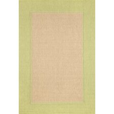 Monterey Green Border Indoor/Outdoor Rug