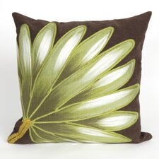 <strong>Liora Manne</strong> Visions II Palm Fan Pillow Cushion
