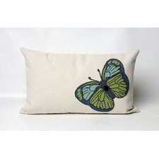 <strong>Liora Manne</strong> Butterfly Rectangle Indoor/Outdoor Pillow