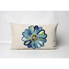 <strong>Liora Manne</strong> Daisy Rectangle Indoor/Outdoor Pillow