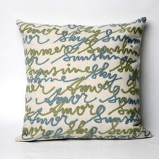 <strong>Liora Manne</strong> Amour Square Indoor/Outdoor Pillow