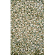 Spello Pebbles Blue Outdoor Area Rug