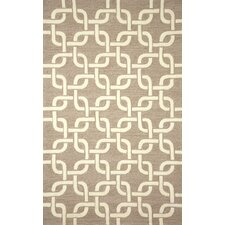 <strong>Liora Manne</strong> Spello Chains Natural Outdoor Rug